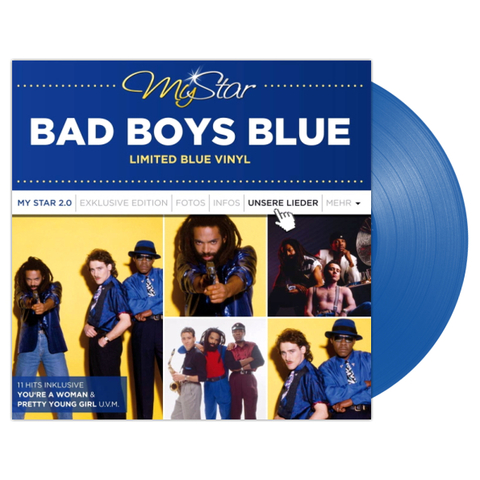 Bad Boys Blue ‎/ My Star 2.0 (Coloured Vinyl) (LP)