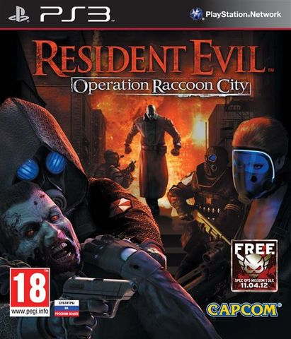 PS3 Resident Evil: Operation Raccoon City (русские субтитры)