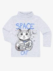BKT002760 свитер детский, серый меланж