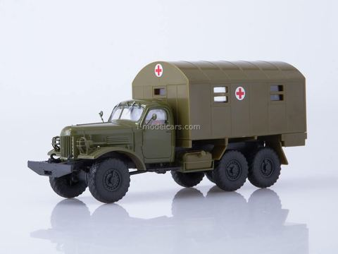ZIL-157 KUNG-1M Medical khaki 1:43 Our Trucks #40