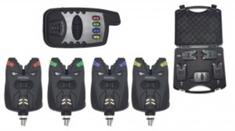 Набор электронных сигнализаторов поклевки с пейджером Hoxwell HL 27 (4+1)