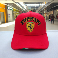 Кепка Феррари (Бейсболка Ferrari) красная
