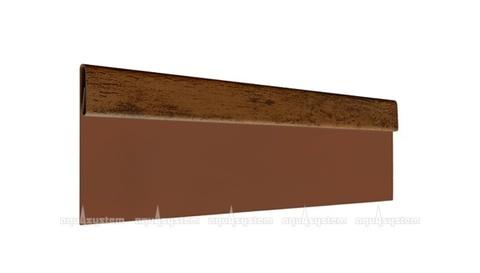 Финишная планка Аквасистем оцинкованная с полимерным покрытием PRINTECH 2 м
