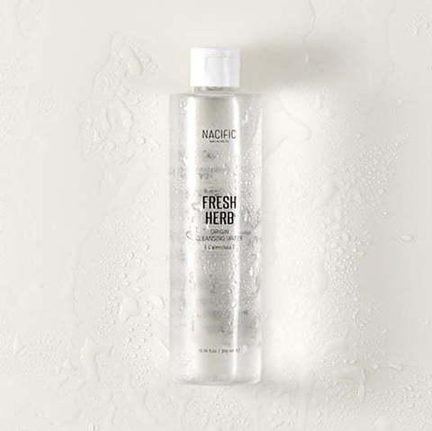 Мицеллярная вода для снятия макияжа с экстрактом календулы, 300 мл / Nacific Fresh Herb Origin Cleansing Water