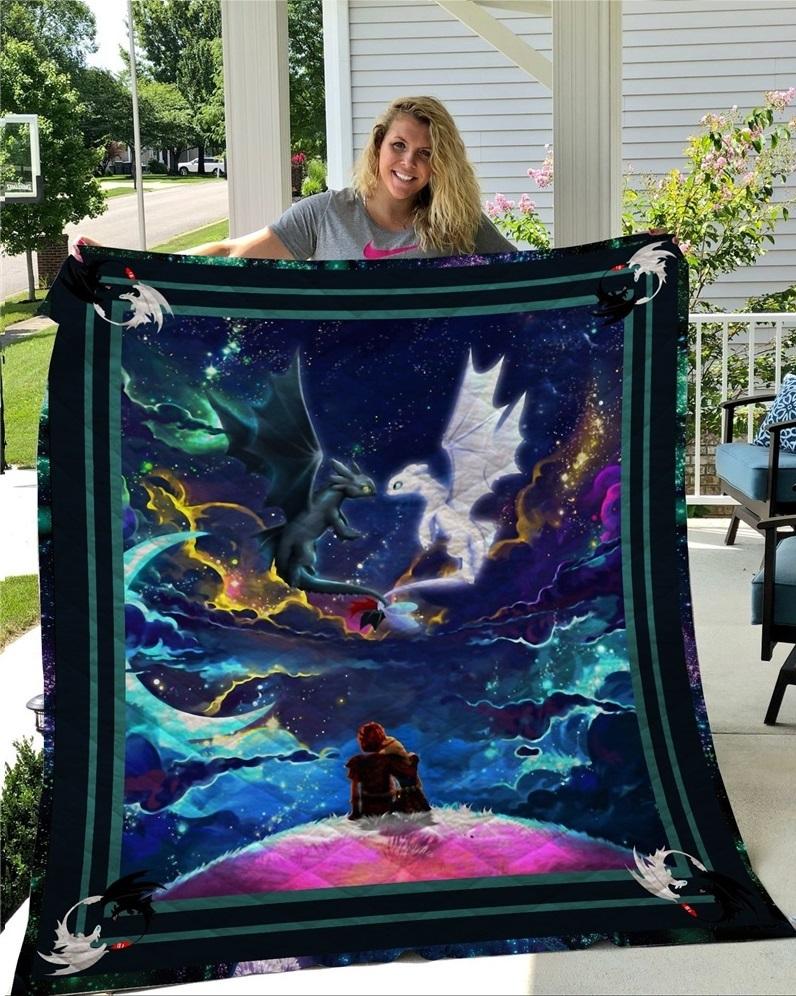 Как приручить дракона одеяло стеганое расцветка №2