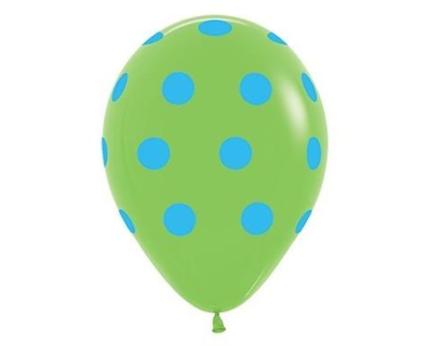 Воздушный шар «Цветной Горох» (Салатовый)