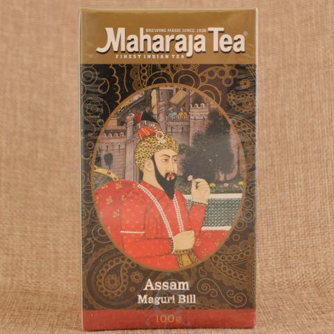 Чай черный ассам Магури Билл Махараджа, 100г