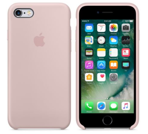 iPhone 6/6s Silicone Case  Бледно Розовый
