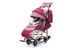 Санки коляска PIKATE Скандинавия «Бордо»
