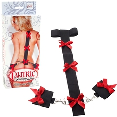 Набор для бондажа TANTRIC BINDING LOVE COLLAR AND CUFFS