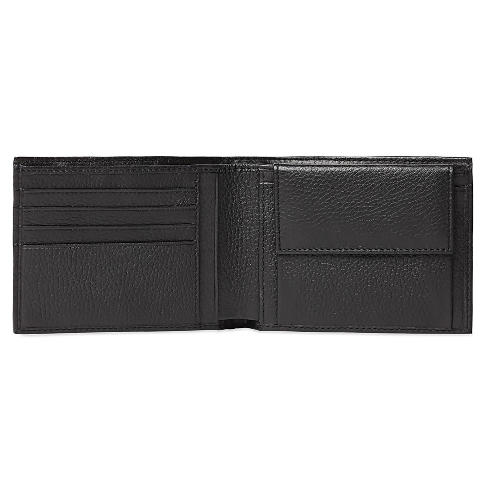 Кошелек Piquadro Modus, цвет черный, 12,5x9x2,5 см (PU257MO)