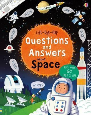 Kitab Lift-The-Flap Questions and Answers About Space   Katie Daynes