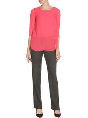 WP6512F-1 блузка женская, красная