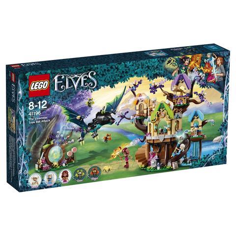 LEGO Elves: Нападение летучих мышей на Дерево эльфийских звёзд 41196 — The Elvenstar Tree Bat Attack — Лего Эльфы