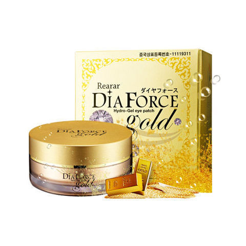 Патчи Rearar Dia Force Hydro Gel Eye Patch Gold MISKIN