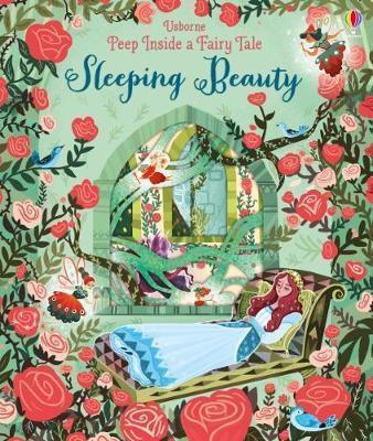 Kitab Peep Inside A Fairy Tale Sleeping Beauty   Anna Milbourne