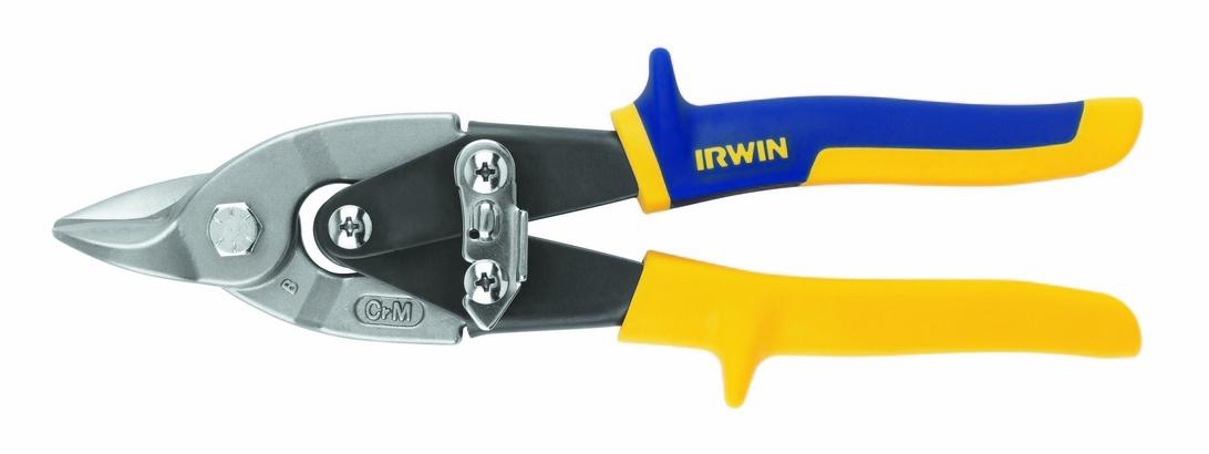 Ножницы по металлу 105/225мм Bulldog прямые повышенной твердости Irwin 10504313N