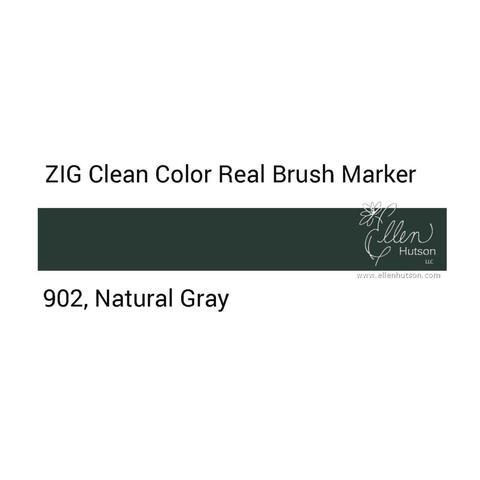 Маркер акварельный ZIG Clean Color Real Brush- штучно - 902