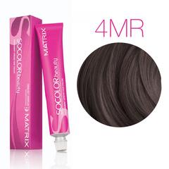 Matrix SoColor Beauty 4MR (Шатен мокка красный) - Крем-краска для волос
