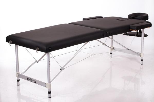 Массажный стол RESTPRO ALU 2 (S) Black (EU) фото