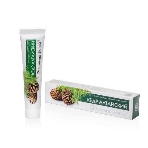Зеленый Алтай зубная паста