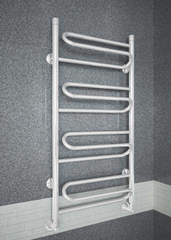 Upiter White - белый полотенцесушитель с увеличенным пространством  для сушки.