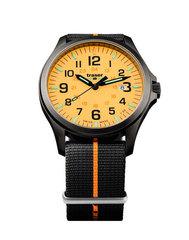 Швейцарские тактические часы Traser P67 OFFICER PRO  GUNMETAL Orange 107428