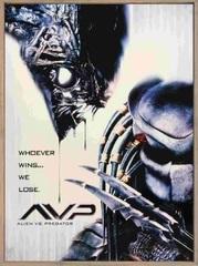 Постер на холсте Чужой против Хищника