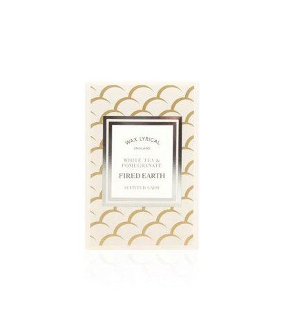 Ароматическая карточка Белый чай и гранат, Wax Lyrical
