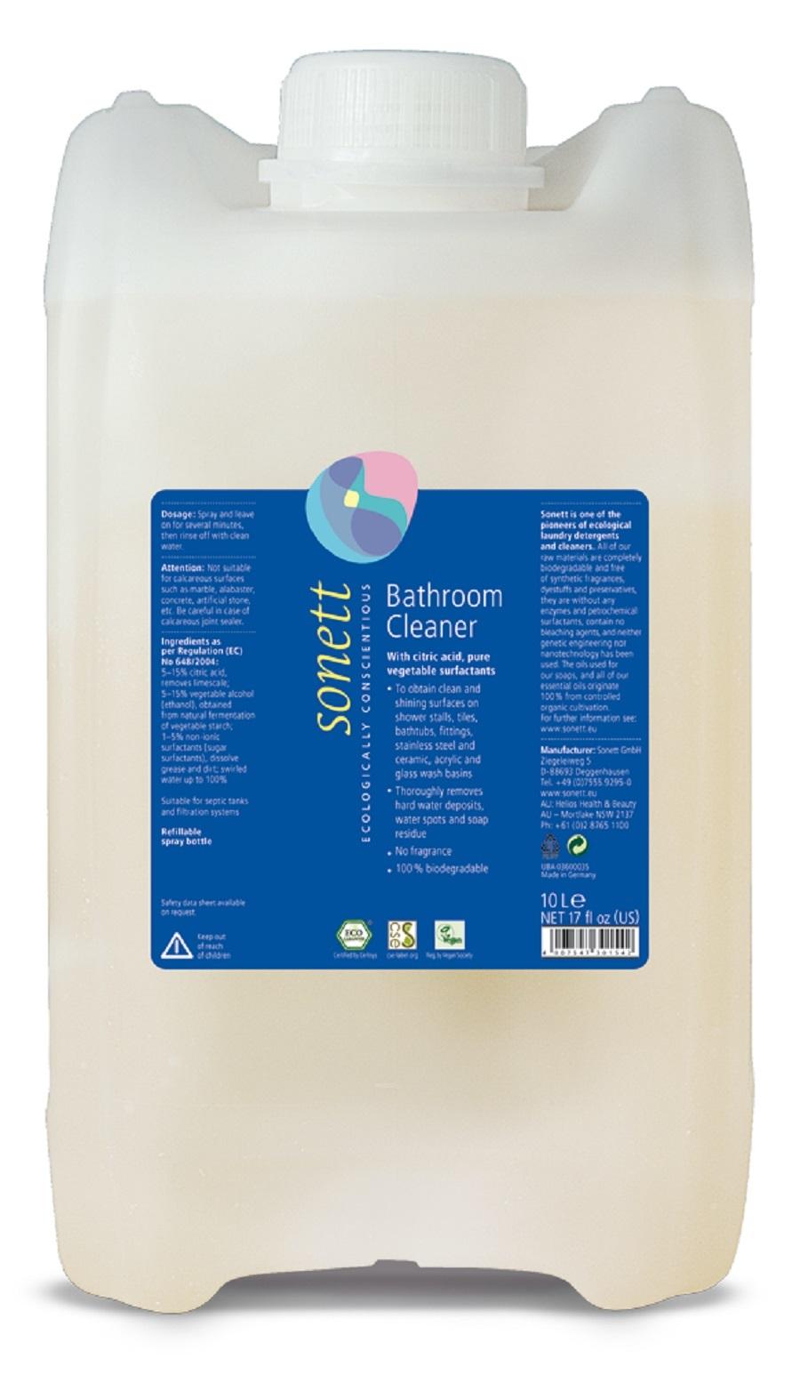"""Средство для чистки ванной комнаты """"С цитрусовой кислотой"""" Sonett - 10 л"""