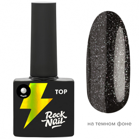 Топ RockNail Pearl Top (10 мл.)