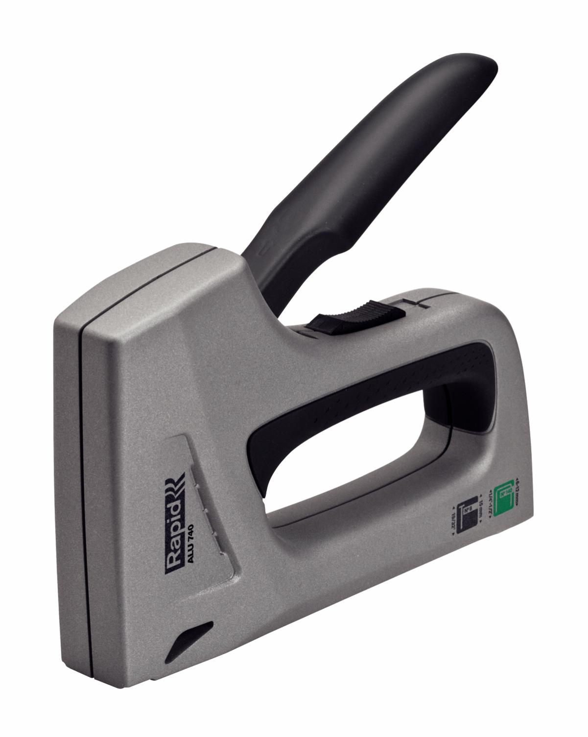 Степлер ручной Alu740 Aluminium Combi Rapid 25072310