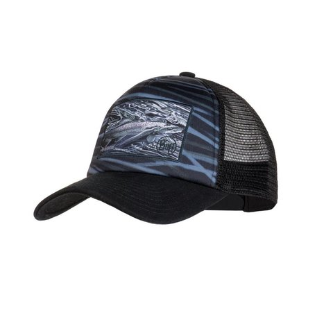 Кепка-бейсболка Buff Trucker Cap Chrome Graphite