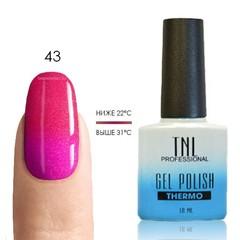 Термо гель-лак TNL 43-карамельно-розовый/мандариновый (с микроблёстками), 10 мл