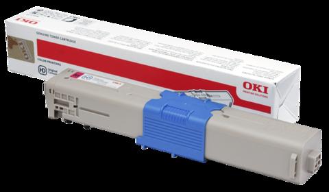 Тонер-картридж OKI C510, 530, MC561, С511, 531, MC562  - Magenta 5K 44469753