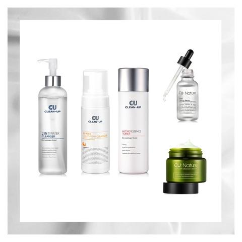 Основной Уход CU SKIN Basic Skin Care Set