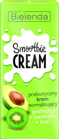 SMOOTHIE CREAM Нормализующий крем Пребиотик+Авокадо+Киви 50мл
