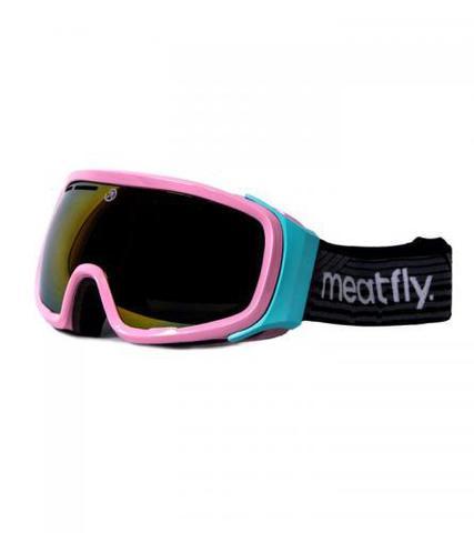 Сноубордическая маска Meatfly Attos (pink)