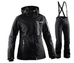 Женский горнолыжный костюм 8848 Altitude Aruba/Winity (черный)