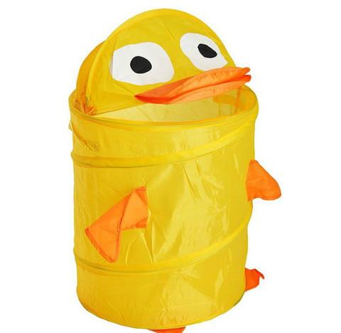 Корзина для хранения игрушек Утенок желтый