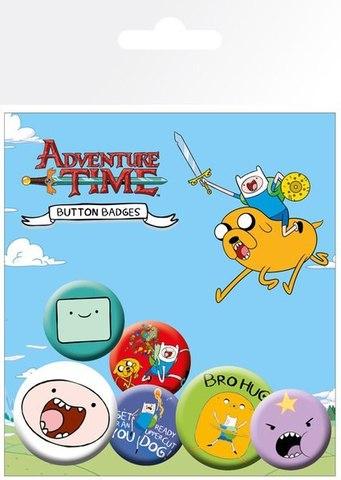 Набор значков Adventure Time. Finn