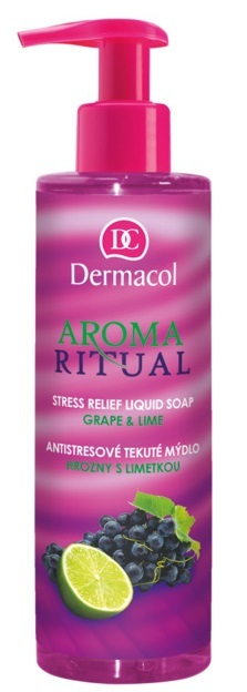 Dermacol Aroma Ritual Stress Relief Grapes with lime