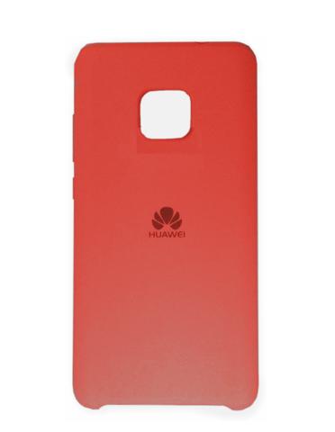 Силиконовый чехол Silicon Case для Huawei Mate 20 Pro (Красный)