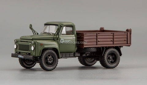 GAZ-52-02 SAZ-3503 1978 green-brown DIP 1:43