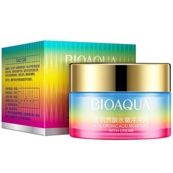 Bioaqua Крем для лица с Гиалуроновой кислотой Peng Peng Hyaluronic Acid Cream, 50 г