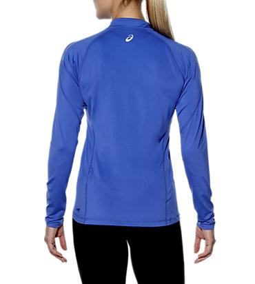 Женская беговая рубашка Asics Zip Top (110425 8091) фото