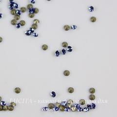 1028 Стразы Сваровски Sapphire PP 6 (1,3-1,35 мм), 20 штук