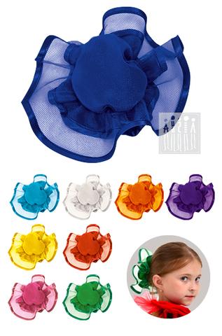 Фото Кичка ( головной убор ) рисунок Костюм Ромашки для девочки  подойдет девочкам разной комплекции благодаря запаху на завязках. К поясу пришиты лепестки белой ткани, имитирующие цветок ромашки.