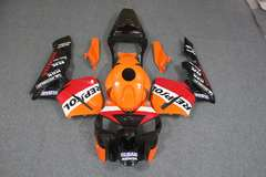 Комплект пластика для мотоцикла Honda CBR 600 RR 03-04 Repsol Оранжевый