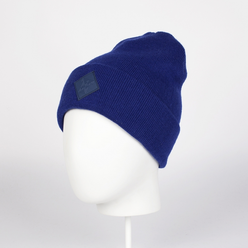 Шапка TRUESPIN SQUARE CLASSIC BEANIE NAVY